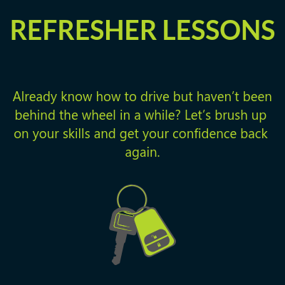 Refresher driving lessons Beckenham